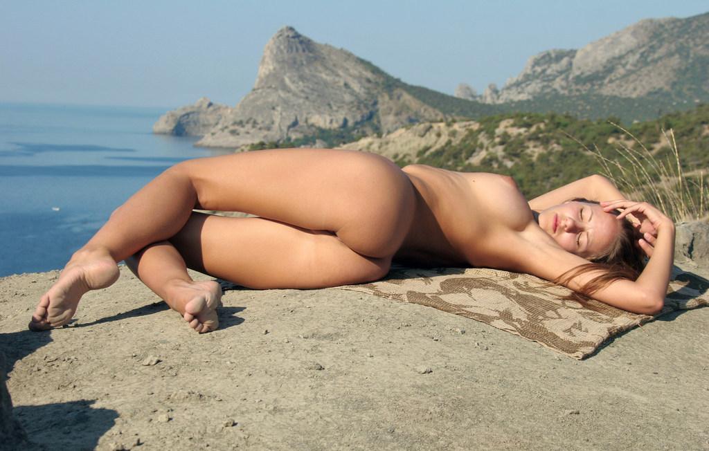 Порно фото Порно на природе .